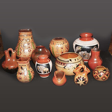 Picture for category Navajo Pottery