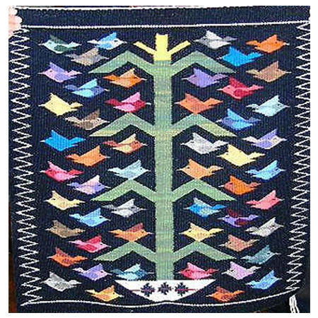Picture for category Bird Style Navajo Rugs