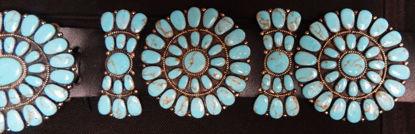 Navajo Cluster Turquoise Belt 1